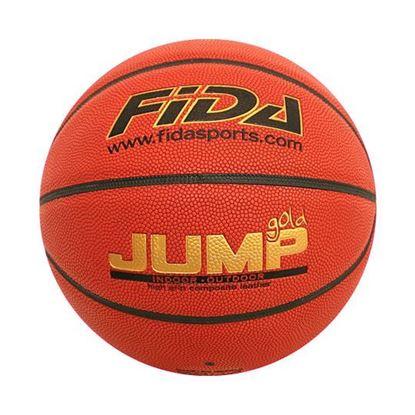 Tekmovalna košarkarska žoga FIDA Jump Gold