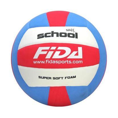 Odbojkarska žoga FIDA School Soft - primerna za šolsko igro odbojke