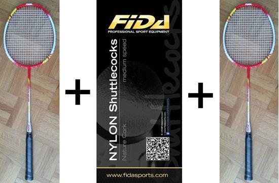 Picture of Badminton komplet FIDA 800 aluminium - AKCIJA