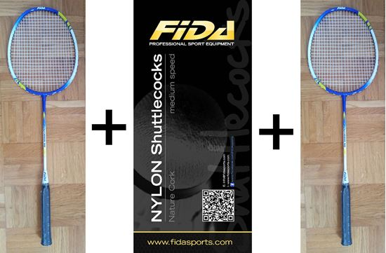 Picture of Badminton komplet FIDA 900 carbon - AKCIJA
